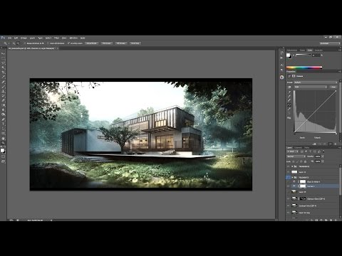 Architectural Post Production Tutorial – Compositing and Depth