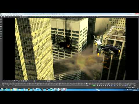 3D Compositing in Fusion 6.4: Part 1. Transformers / Terminator type shot