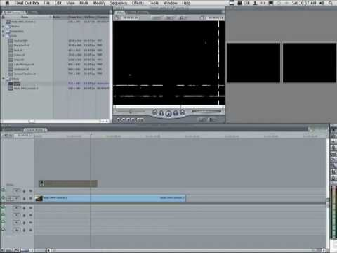 Compositing with a Matte in Final Cut Pro 7