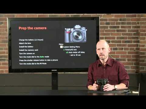 Nikon D7000 – DSLR Fast Start