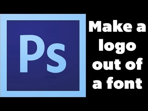 Photoshop Tutorial – Make a Logo Out of a Font