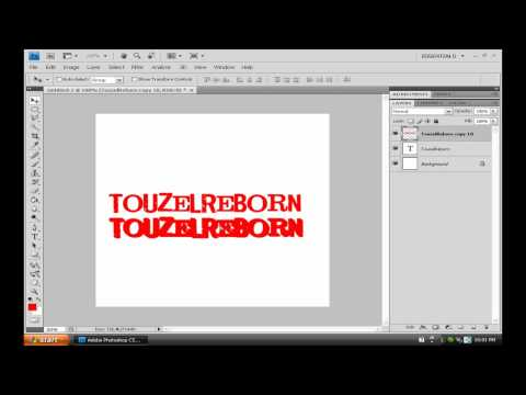 How To Make 3D Text – Photoshop Tutorial