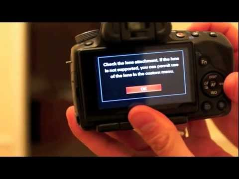 Sony a55 – F stop issue
