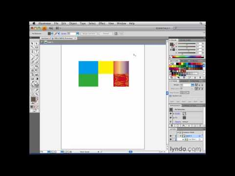 Illustrator: Understanding how Live Paint groups work | lynda.com