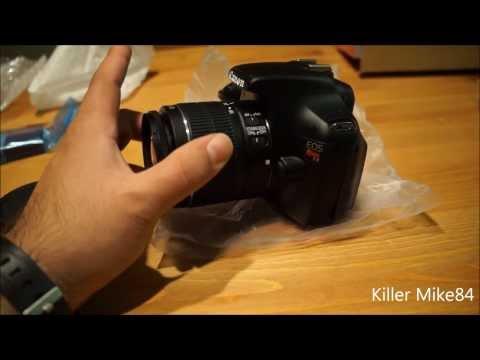 Unboxing & Review Canon EOS Rebel T3/1100D 12.2 Megapixel DSLR Camera