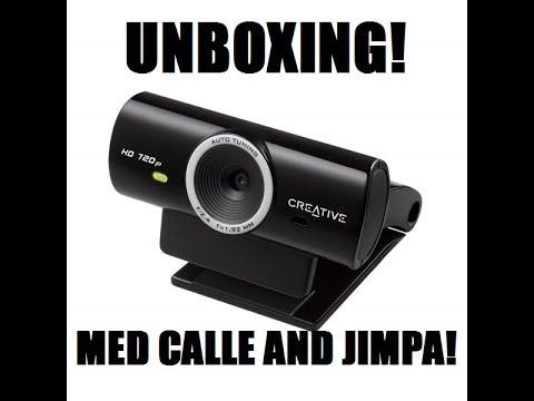 Creative Live Cam Sync HD 720p Webcam – Unboxing!