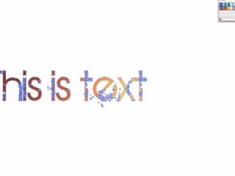 graphic design illustrator text effects