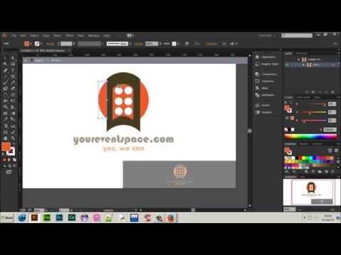 Logo design for company | Adobe illustrator #1 [Speed art HD]