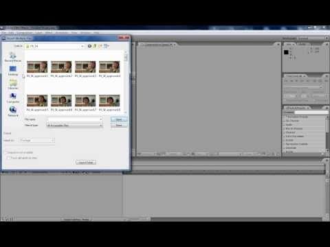 Image Sequence Compositing in Adobe After Effects