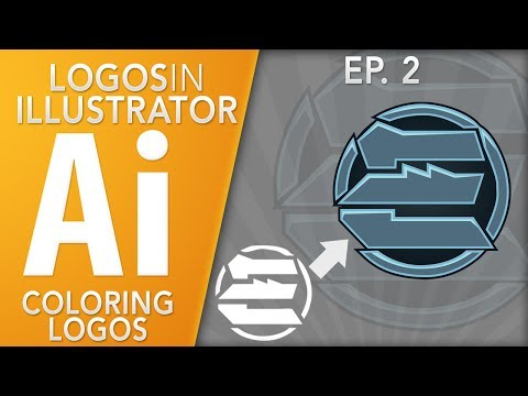 Logos in Illustrator: Logo Coloring (Fast and Easy) Ep. 2 by Qehzy