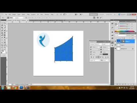Tutorial of professional Logo design,All full step to design logo using photoshop[HD]