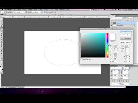 Photoshop Basics (Graphic Design): Lesson 1 | Making a Shape