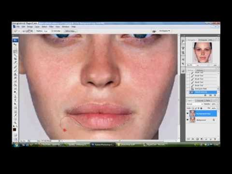 Photoshop CS3 – Extreme Re-Touch/Makeover (HD)