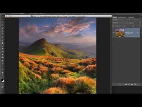 Photoshop Workbench 436: Long Exposure Motion Blurred Cloud Effect