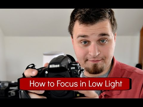 HOW TO FOCUS IN LOW LIGHT PHOTOGRAPHY TIPS