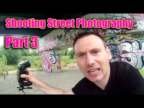 Shooting Street Photography  ( Part 3:  Off Camera Flash )
