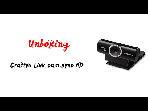 Unboxing: Creative Live Cam Sync HD