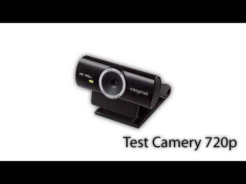 Creative Live! Cam Sync HD Test Camery 1280×720