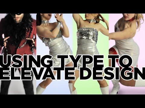 Graphic Design Tutorial: Typography that elevates design