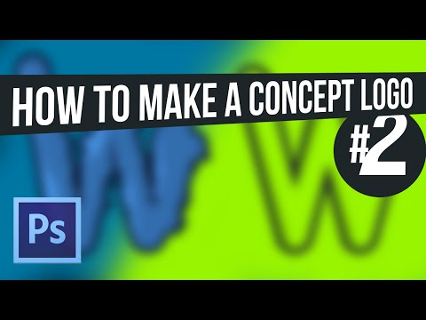 How To Make A Logo In Adobe Photoshop CC (InDepth Graphic Design Tutorial / GFX)