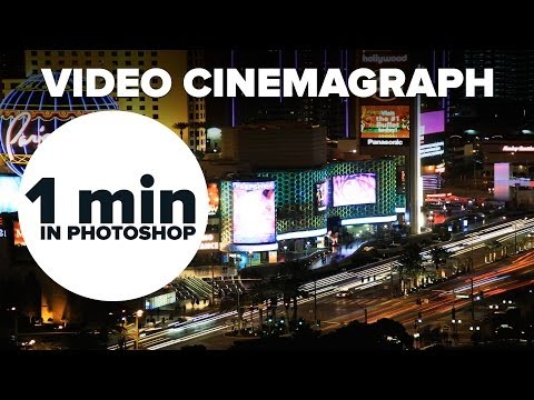How to create a Cinemagraph in Photoshop #MinutePhotoshop