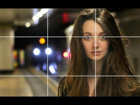 The Rule of Thirds – portrait photography composition tutorial