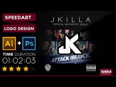 "Swerve™ Graphic designer: Speedart | ""J killa"" Logo Design by Swerve Designs"