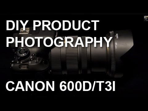 Long Exposure | Product Photography | Light Painting | Canon 600D | Sigma 17-55 mm f2.8 | Lumix LX5