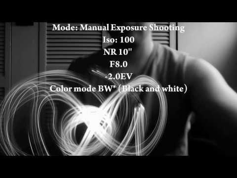 Sony Dsc HX100V HD Slow Motion Test Plus long exposure Photo examples Cybershot