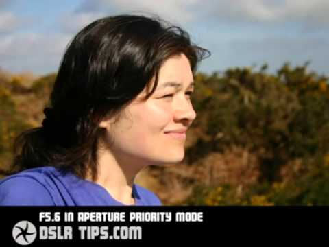 DSLR Tips  How to blur backgrounds on portraits youtube original1