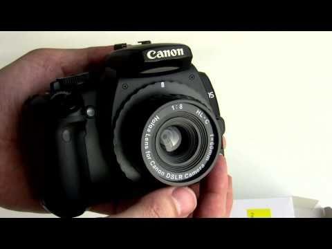 Holga HL-C lens mount for Canon / HL-N Nikon DSLR !!! Digital Holga