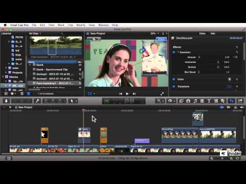 Final Cut Pro X 105: Core Training: Compositing and Visual FX – 1. Introduction