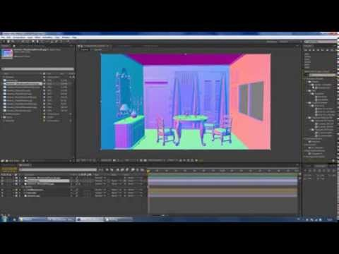 3DS Max Render Elements and Compositing