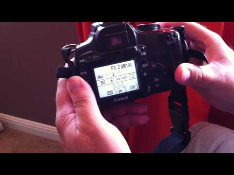 Canon SLR F-Stop Broken After Autofocus