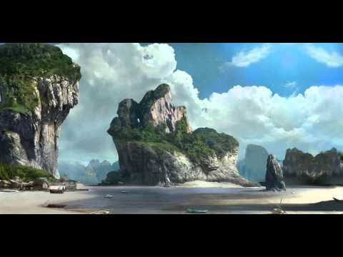Compositing Matte Painting with Eyeon Fusion & Blender 3D