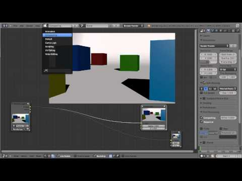 Blender Compositing Tutorial #1 Der Kriegsnebel – (Node Editor Tutorial) Deutsch/German