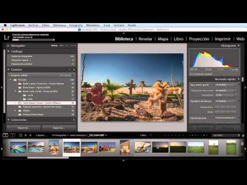 Tutorial de Adobe Photoshop Lightroom 5 en Español – Parte 1