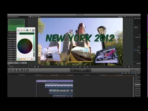 FCPX Introduction au compositing