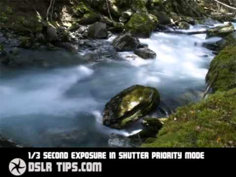 DSLR Tips  How to blur water for a dreamy effect youtube original