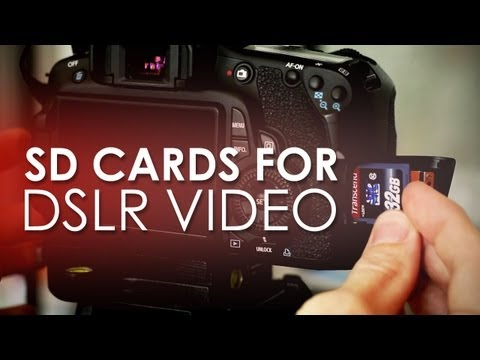SD Cards for DSLR Video – Prevent Your Card from Auto Stopping