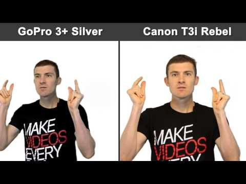 GoPro Hero 3+ Review, Unboxing and Challenge Against The Canon T3i Rebel DSLR