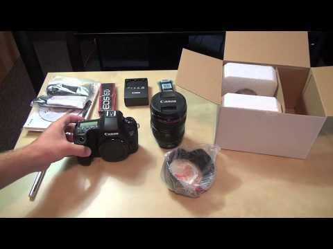 Canon 6D DSLR / 24-105mm F/4L Lens Kit Unboxing