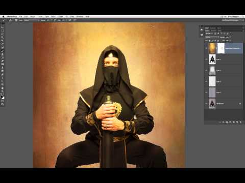 Compositing A Ninja In Photoshop