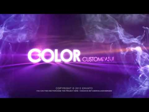 Volumetric Light In Smoke Logo | VideoHive Templates | After Effects Project Files