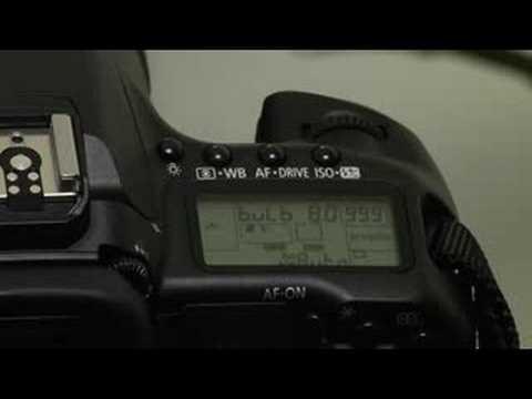 Advanced Tips for Canon EOS 40D : Canon EOS 40D: Bulb Exposures