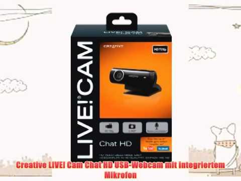 BEST BUY Creative LIVE! Cam Chat HD USB-Webcam mit integriertem Mikrofon