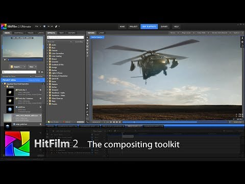 3D compositing in HitFilm 2 Ultimate
