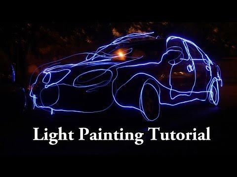 Light Painting Tutorial Using Flashlights and Speedlights – Night Photography
