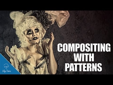 PHOTOSHOP TUTORIAL: Compositing with Patterns #46