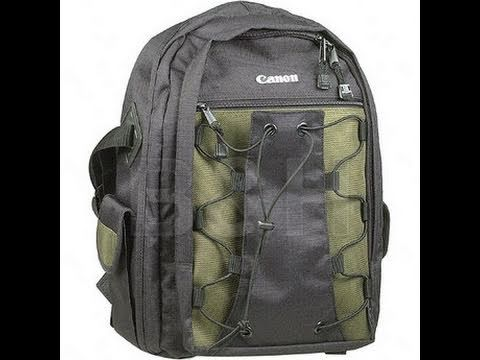 Canon DSLR Backpack Unboxing
